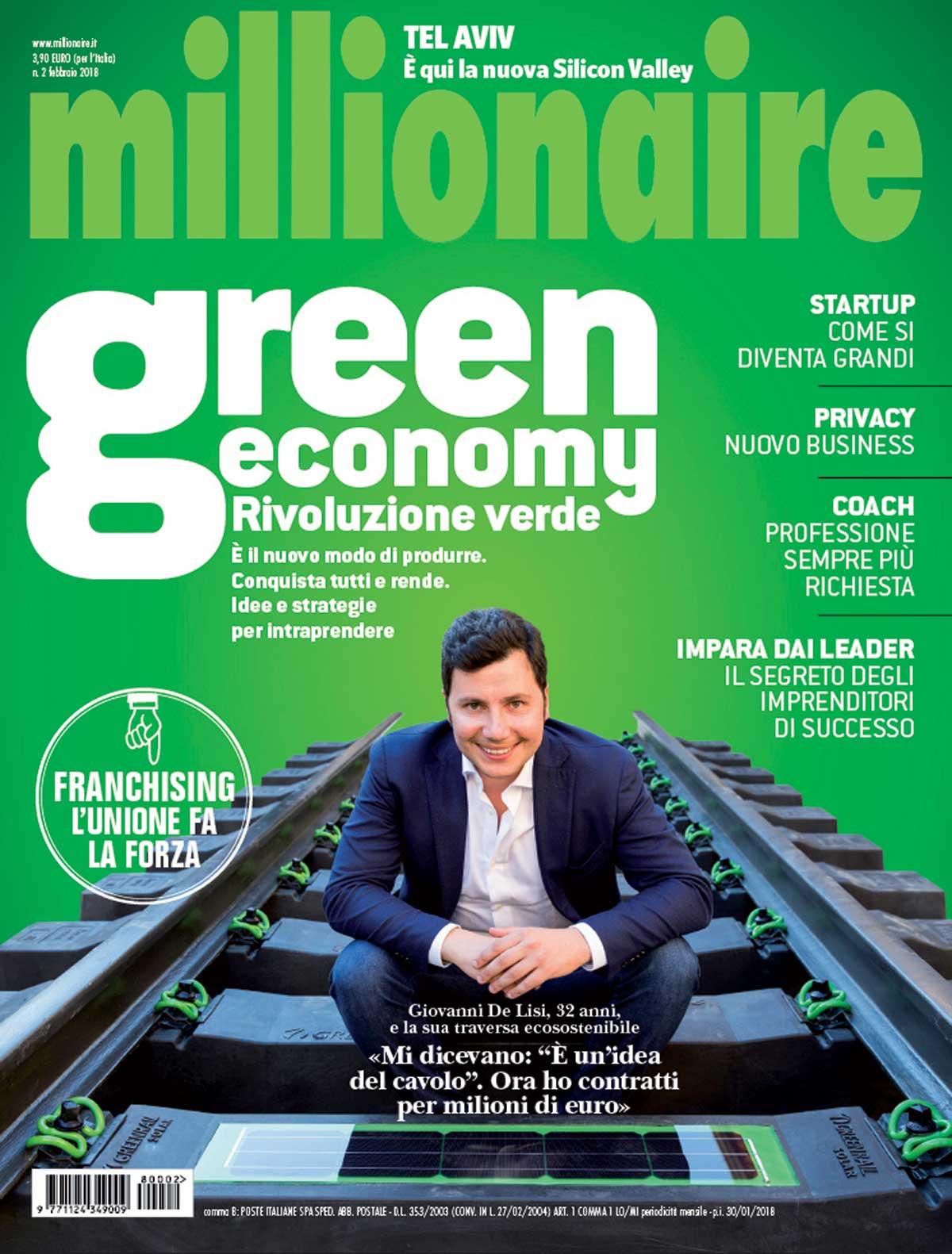 Millionaire intervista Antonio Chiarello