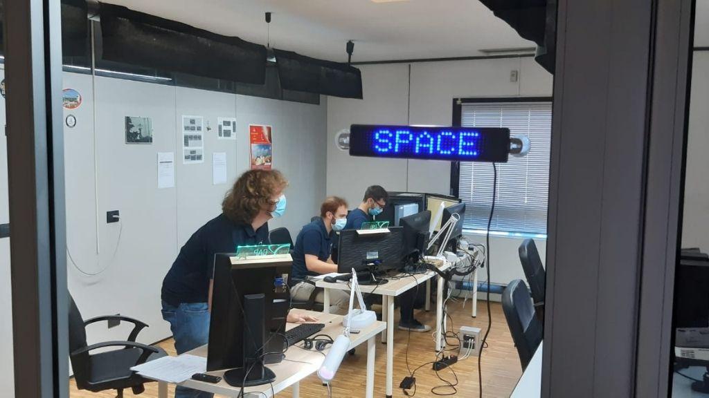 Sala di controllo D-Orbit