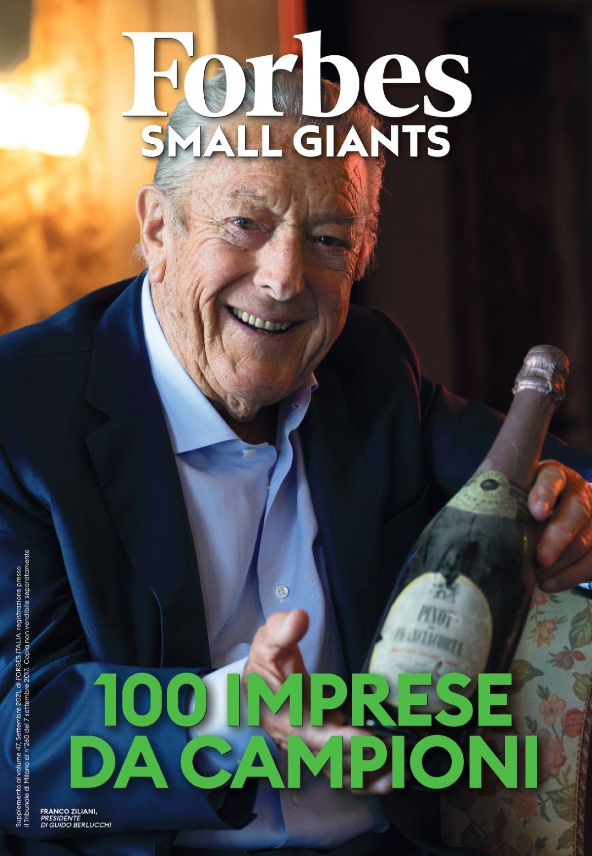 Copertina Forbes settembre 100 PMI