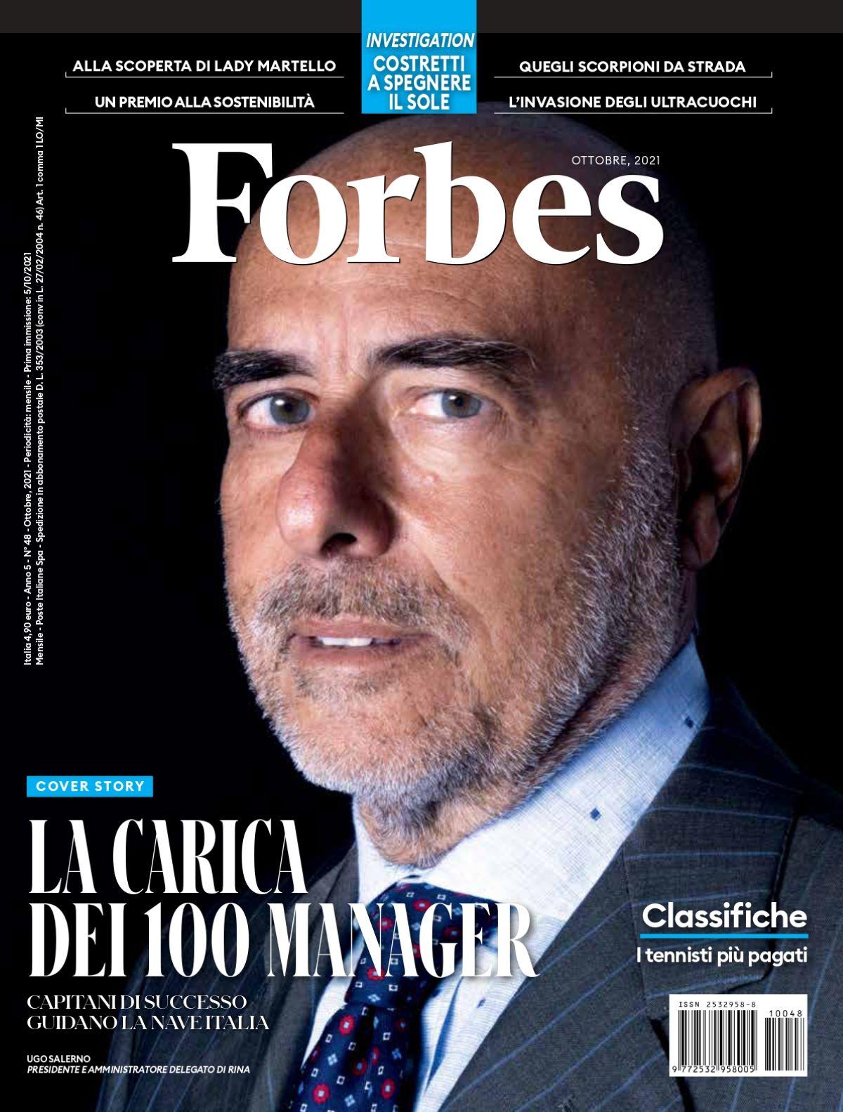 Copertina Forbes Gianfranco Scalabrini ClubDealOnline